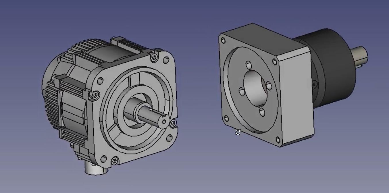 servo motor planetary reducer assembly