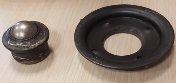 ball transfer unit holder plate parts