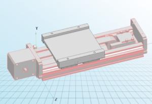 belt pulley linear module