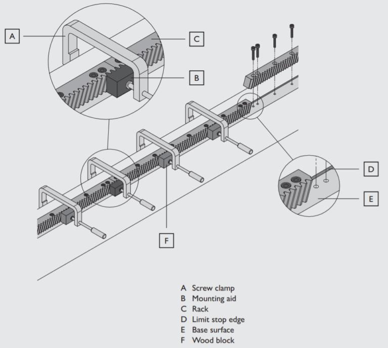 Helical Rack Mounting Procedure